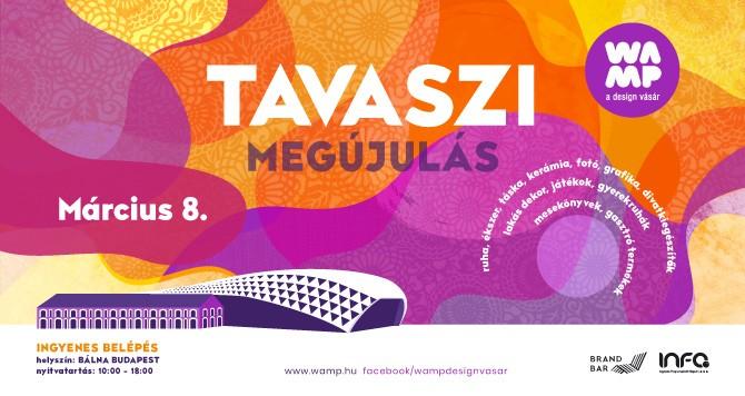 WAMP Design Vásár – Tavaszi megújulás 2020, Budapest