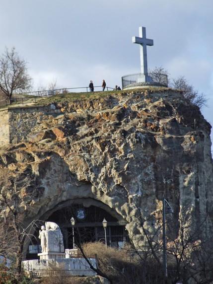 The Gellért Sziklakápolna in Budapest