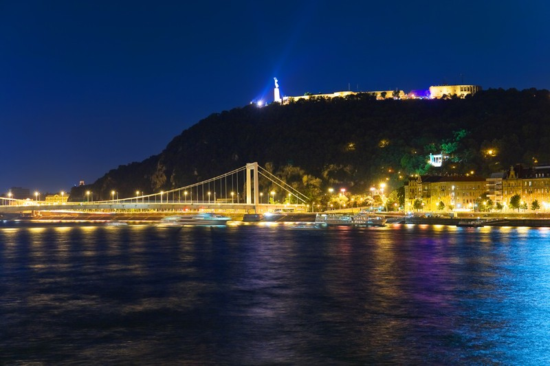 Bridges And The Castle In Budapest Hungary Travel