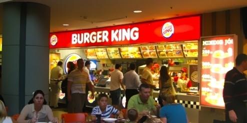 Burger King Westend City Center , Budapest