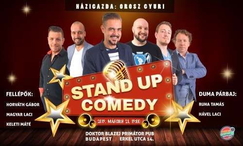 - STAND UP COMEDY HUMORTÁRSULAT LIVE
