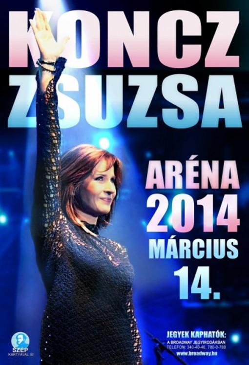 Koncz Zsuzsa Aréna 2014  - Koncz Zsuzsa nagykoncert
